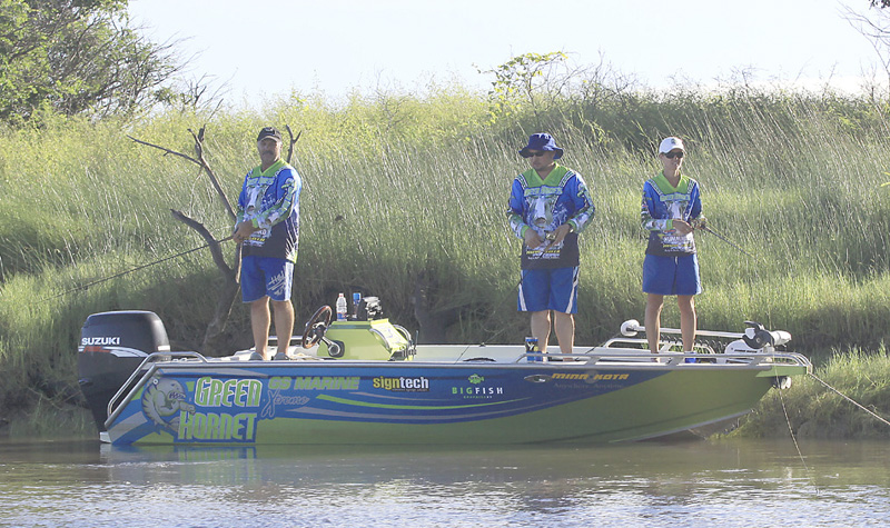 A barramundi fishing boat